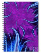 Tendrils Through The Mists Of Time Spiral Notebook