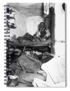 Tenement Life, Nyc, C1889 Spiral Notebook