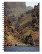 Tenerife Coastline Spiral Notebook