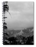 Tenerife Mountains Spiral Notebook