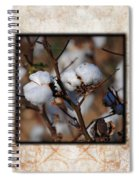 Tennessee Cotton II Photo Square Spiral Notebook