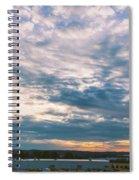 Tennessee Georgia Border Spiral Notebook