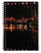 Tennessee River In Lights Spiral Notebook