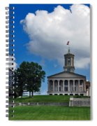 Tennessee State Capitol Nashville Spiral Notebook