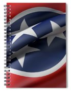 Tennessee State Flag Spiral Notebook
