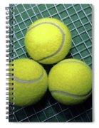 Tennis Anyone Spiral Notebook