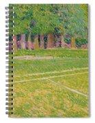 Tennis At Hertingfordbury Spiral Notebook