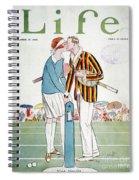 Tennis Court Romance, 1925 Spiral Notebook
