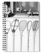 Tennis Rackets Spiral Notebook