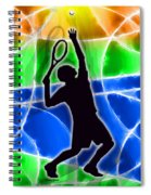 Tennis Spiral Notebook