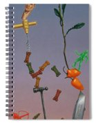 Tenuous Still-life 3 Spiral Notebook