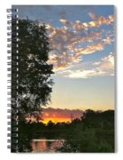 Tequila Sunset Spiral Notebook