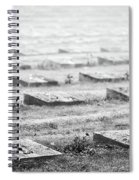 Terezin Cemetery Graves - Czechia Spiral Notebook