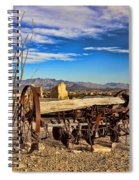 Terlingua Ghost Town 2 Spiral Notebook