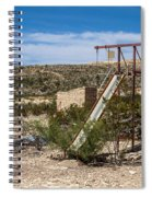 Terlingua Ghost Town #5 Spiral Notebook