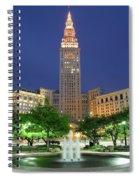 Terminal Tower Spiral Notebook