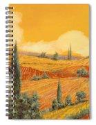 terra di Siena Spiral Notebook