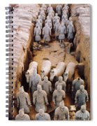 Terracotta Army Spiral Notebook