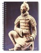 Terracotta Soldier Spiral Notebook