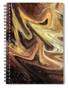 Terrestrial Brush Strokes  Spiral Notebook