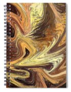 Terrestrial Fire Abstract Spiral Notebook