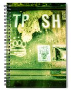 Terror At The Trash Can Spiral Notebook