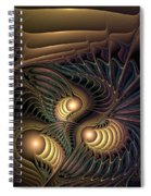 Tertiary Harmonics Spiral Notebook