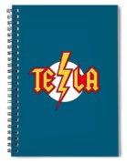 Tesla Bolt Spiral Notebook