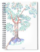 Tesselated Tree Spiral Notebook