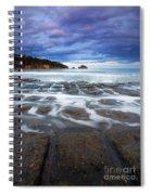 Tessellated Flow Spiral Notebook