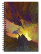 Tesseract Spiral Notebook