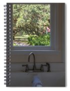 Window Over The Sink Spiral Notebook