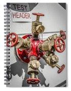 Test Header Spiral Notebook