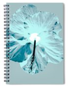 Test Hibiscus Two Spiral Notebook