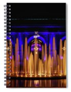 Fountain At Union Station Spiral Notebook