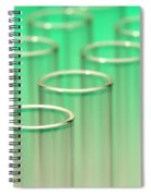 Test Tubes In Science Lab Spiral Notebook