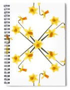 Tete A Tete    The Fabric Spiral Notebook