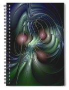 Tethered Sentiments Spiral Notebook