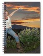 Tetom Sunset 1 Spiral Notebook