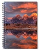 Teton 4 Spiral Notebook
