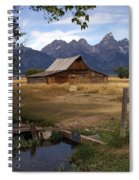 Teton Barn 2 Spiral Notebook
