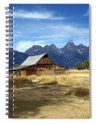 Teton Barn 3 Spiral Notebook