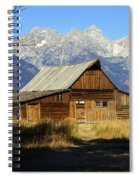 Teton Barn 4 Spiral Notebook
