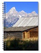 Teton Barn 5 Spiral Notebook