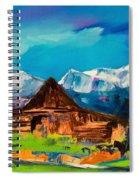 Teton Barn  Spiral Notebook