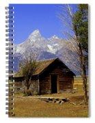 Teton Cabin Spiral Notebook