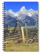 Teton Corral 2 Spiral Notebook