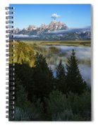 Teton Morning Snake River Overlook Spiral Notebook