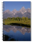 Teton Sunrise 2 Spiral Notebook