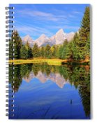 Teton Tranquility Spiral Notebook